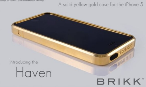 Golden iPhone
