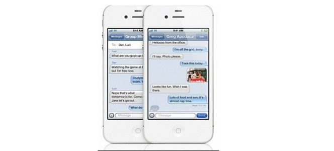 iMessage iPhone