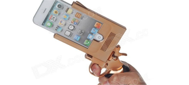 iPhone 5 Pistol Case