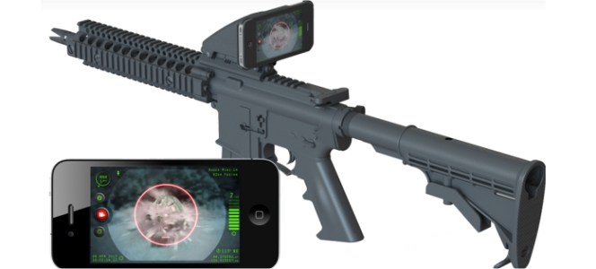 Inteliscope iPhone Rifle