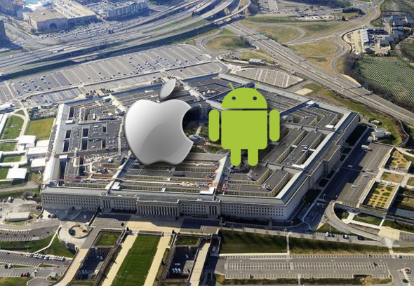 pentagon-apple-android-devices