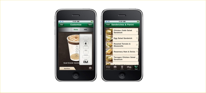 Starbucks iPhone