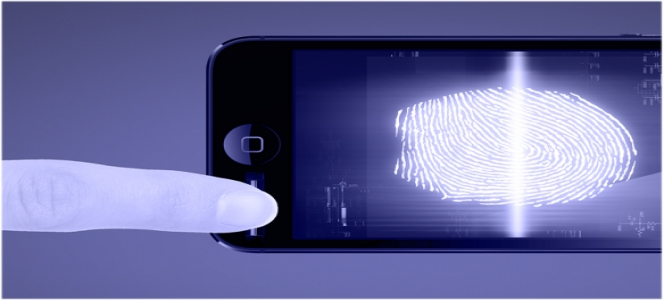iPhone Fingerprint Scanner