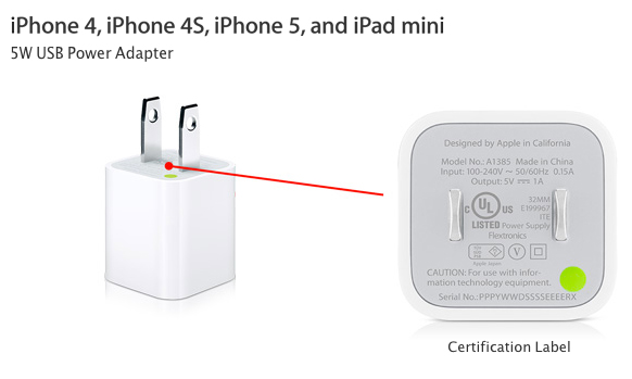 iOS plug Adapter