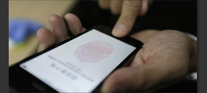 iPhone Fingerprint Scan