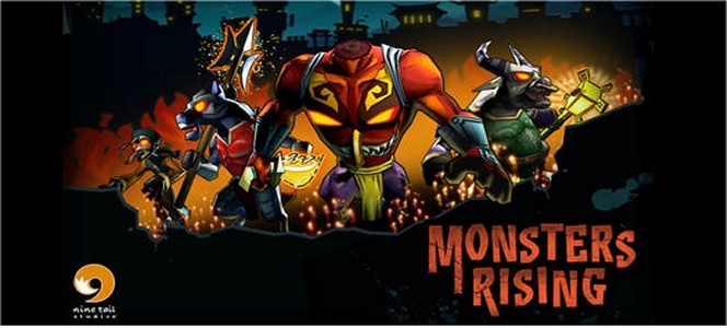 Monster Rising app