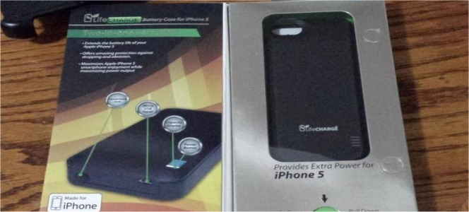 LifeCharge iPhone 5S Case