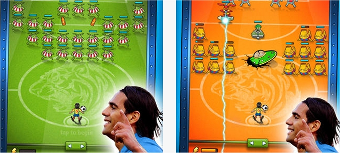 Falcao vs Aliens app