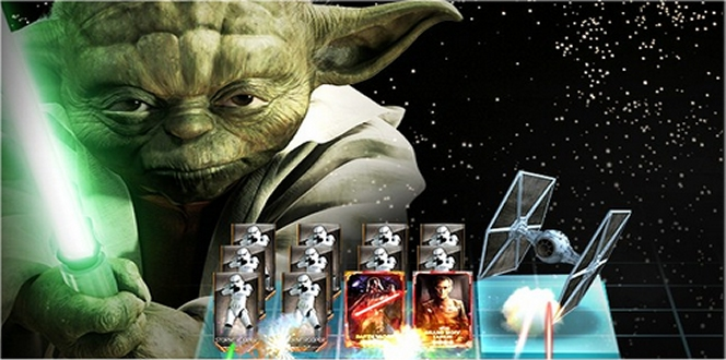 Star Wars Force Collection app