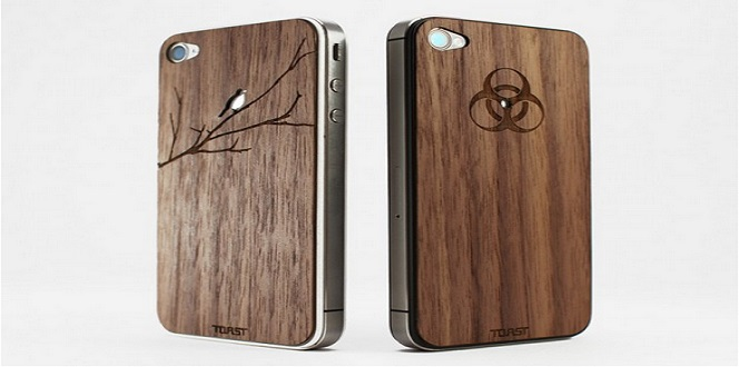 Toast wood case 123