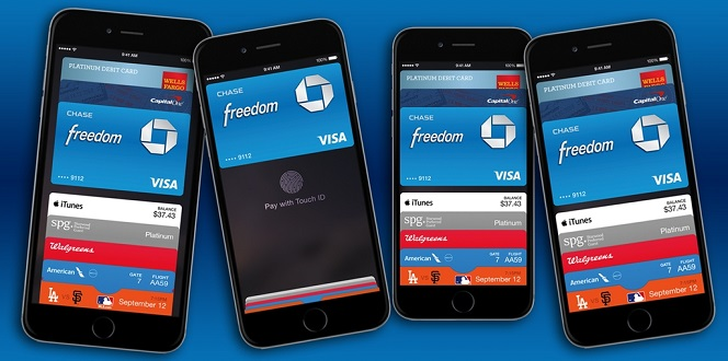 Apple Pay On iPhone 5 6 6-Plus