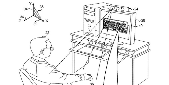 Apple granted PrimeSense patent related to 3D virtual keyboards
