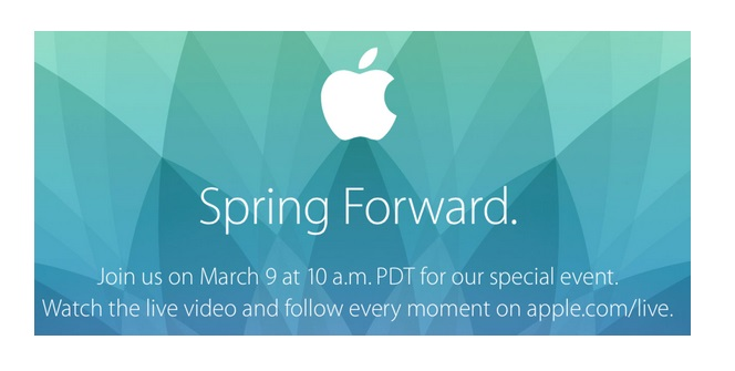 "Apple To Live-Stream ""Special Event"" On March 9th"