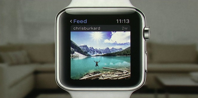 Watch app screenshot
