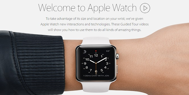 Watch Tour On Apple Site