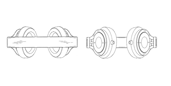 Apple awarded patent for Beats Mixr over-ear headphone design 1
