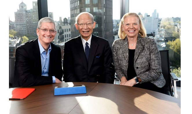 IBM Apple Japan Post Group iPad For Seniors Program
