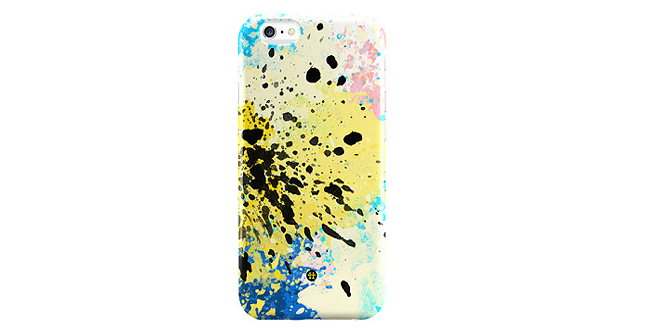 Maddottas CMYK Splash Art Phone Case