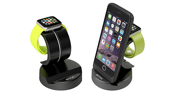 Sciva Dock Charger with Apple Watch