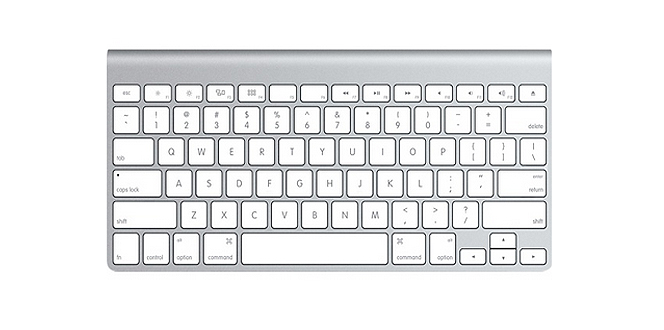 Apples Wireless Keyboard Picture 1
