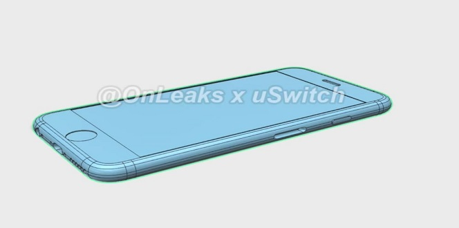 OnLeaks x uSwitch iPhone 6s no protrude