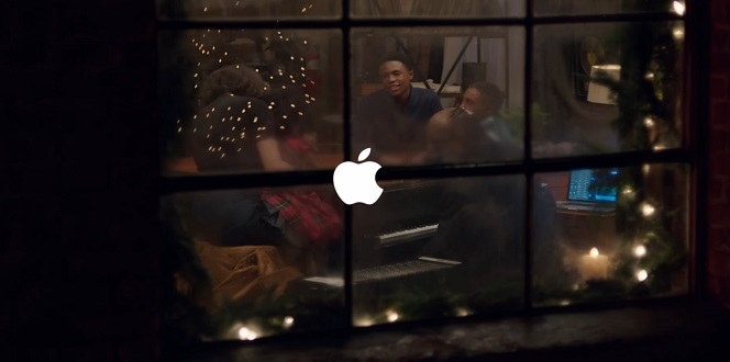 someday at christmas apple ad