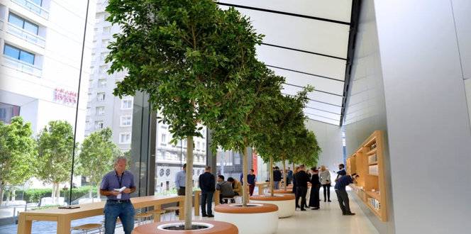 Apple new store