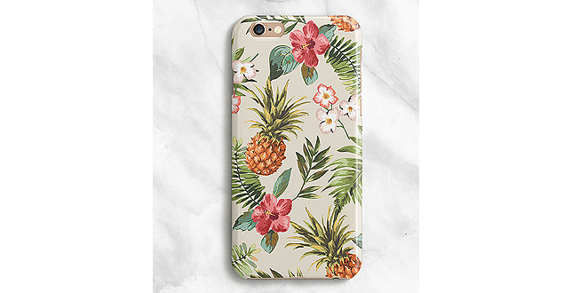 Hawaiian iPhone Case