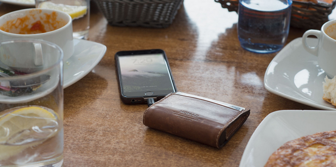 Nomad's Leather Battery