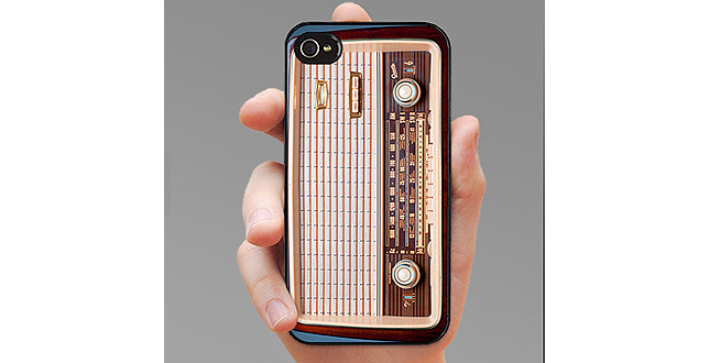 Retro Radio iPhone Case