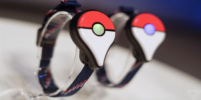 Pokemon Go Plus accessory