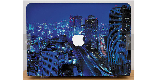 Cityscape Macbook case copy