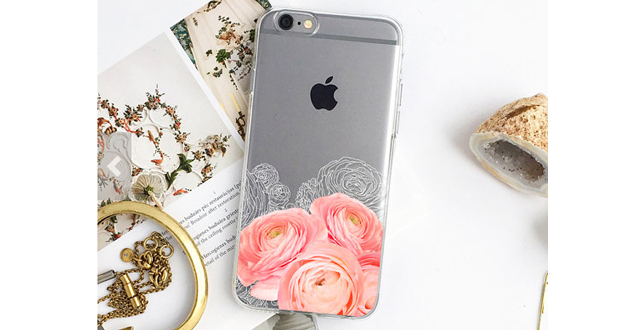 Coral Rose iPhone Case