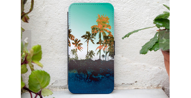 Tropical Wallet case