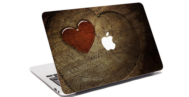 Wood Love Macbook case