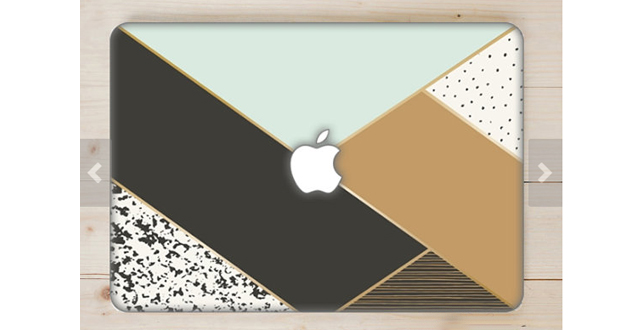 Geometro print Macbook case