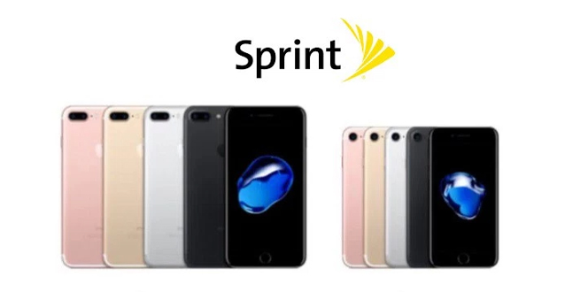 sprint iphone upgrade sprint offers iphone 7 for 0 with eligible trade in 1027