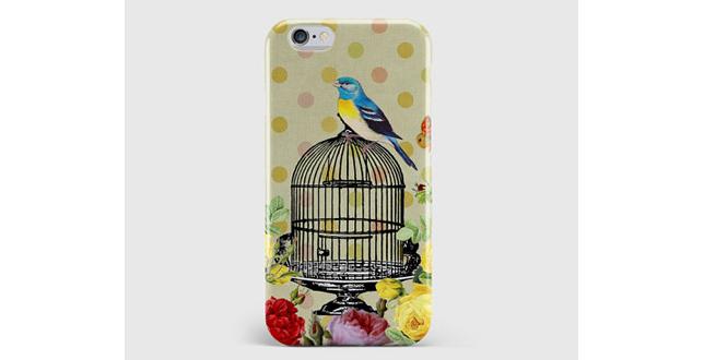 Vintage Birdcage iPhone case