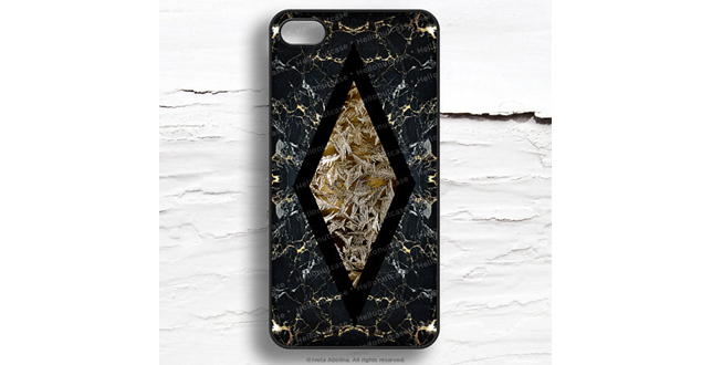 faux gold case