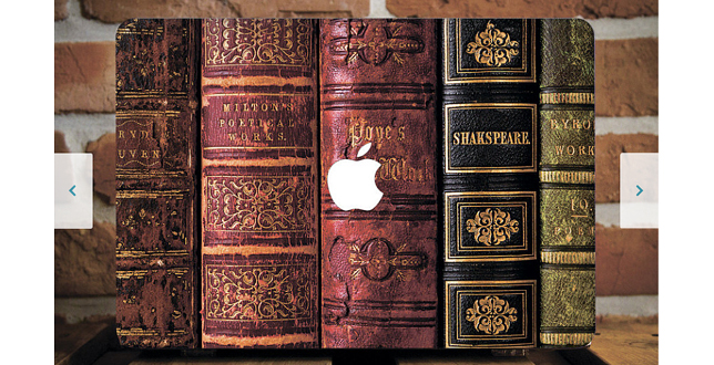book-macbook-case