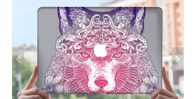 colorful-wolf-case