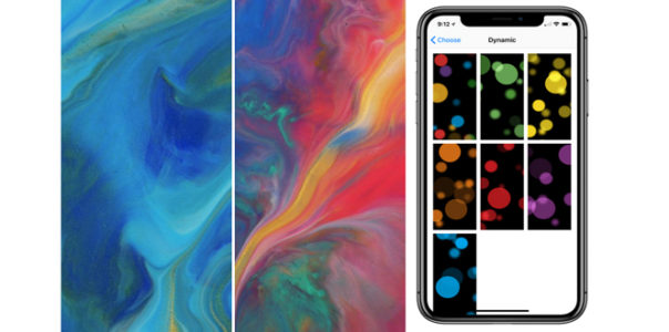 iOS 11.2 Beta Features New Wallpapers For The iPhone X