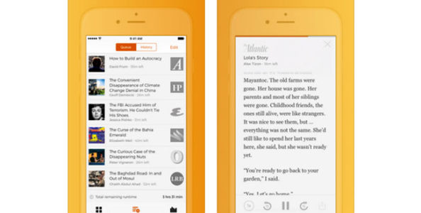 Listen To An Array Of News Articles With The New Adum App | iPhone ...